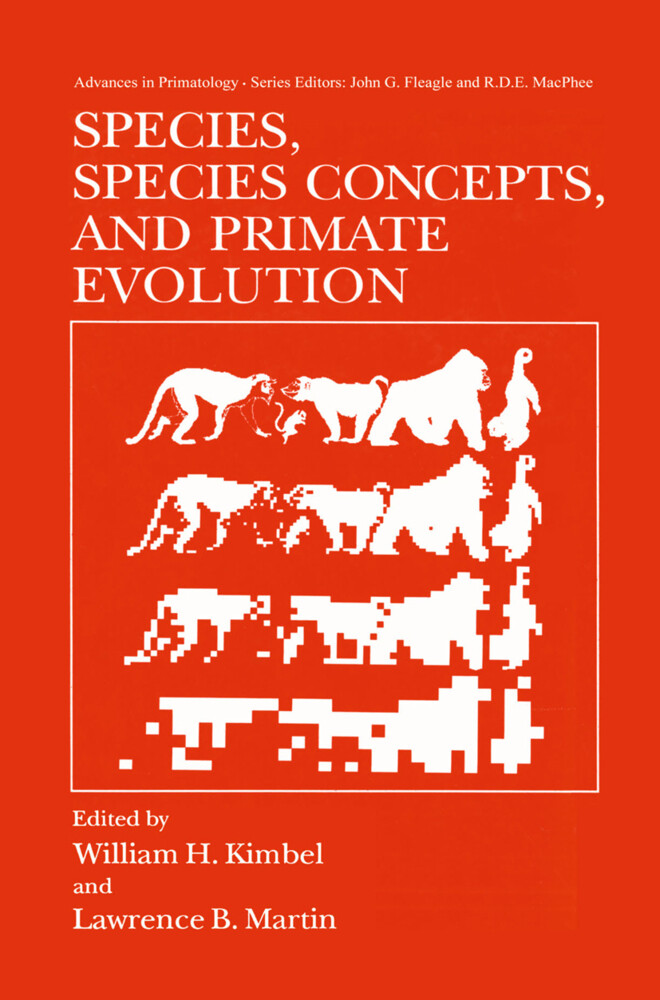 Species, Species Concepts and Primate Evolution als Buch