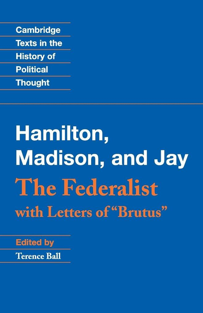 The Federalist als Buch