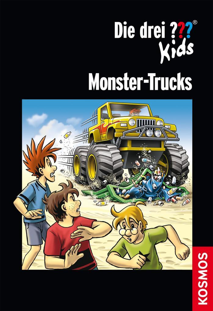 Die drei ??? Kids, Monster-Trucks (drei Fragezeichen Kids) als eBook von Christoph Dittert