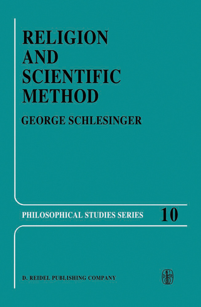 Religion and Scientific Method als Buch