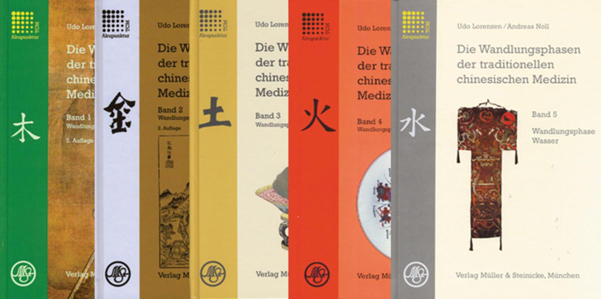 Die Wandlungsphasen der traditionellen chinesischen Medizin als Buch