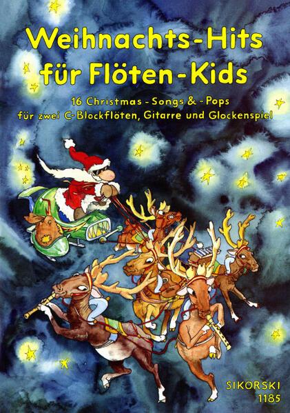 Weihnachts-Hits für Flöten-Kids als Buch