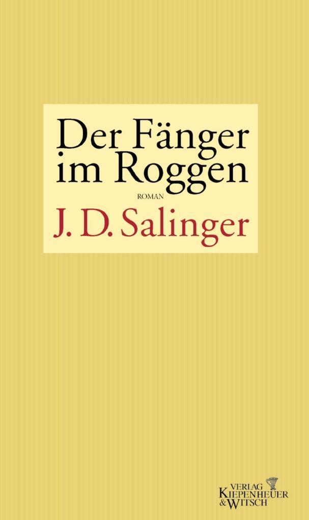 Der Fänger im Roggen als Buch