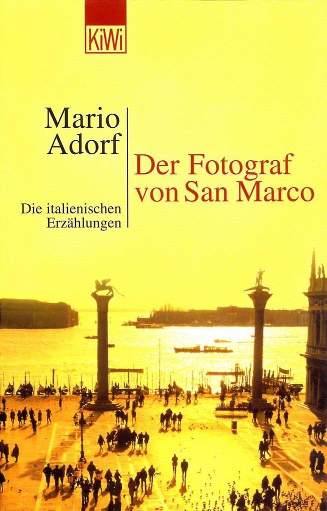 Der Fotograf von San Marco als Taschenbuch