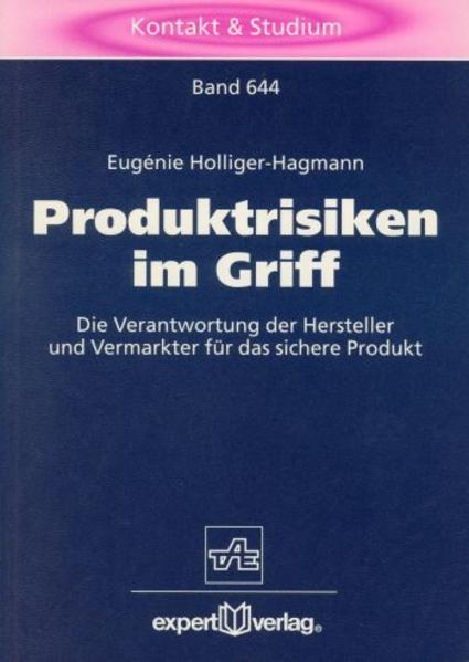 Produktrisiken im Griff als Buch