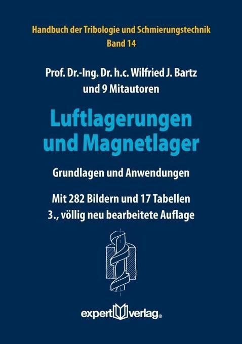 Luftlagerungen und Magnetlager als Buch