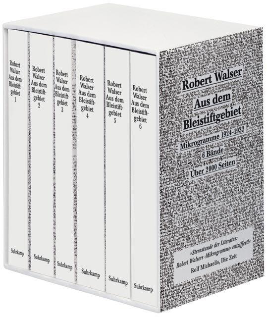 Aus dem Bleistiftgebiet. Ausgabe in sechs Bänden als Buch