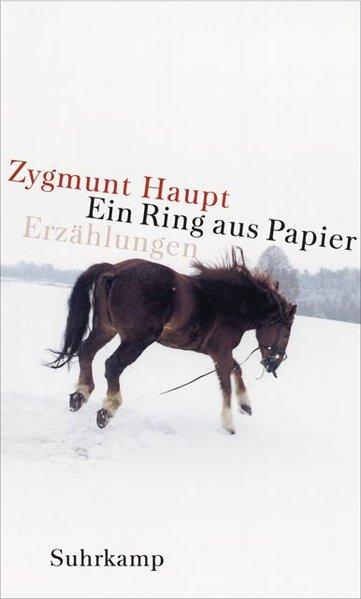 Ein Ring aus Papier als Buch