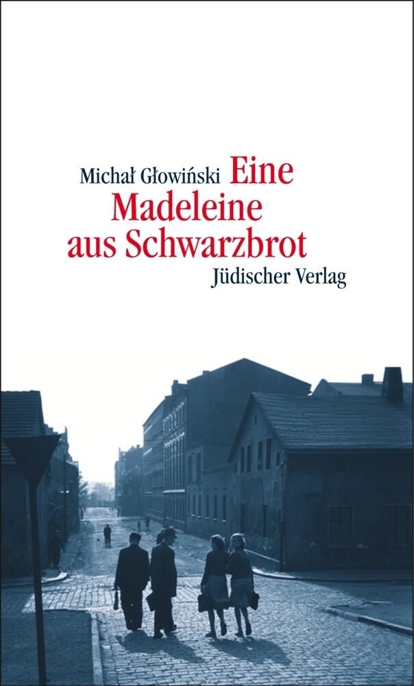 Eine Madeleine aus Schwarzbrot als Buch