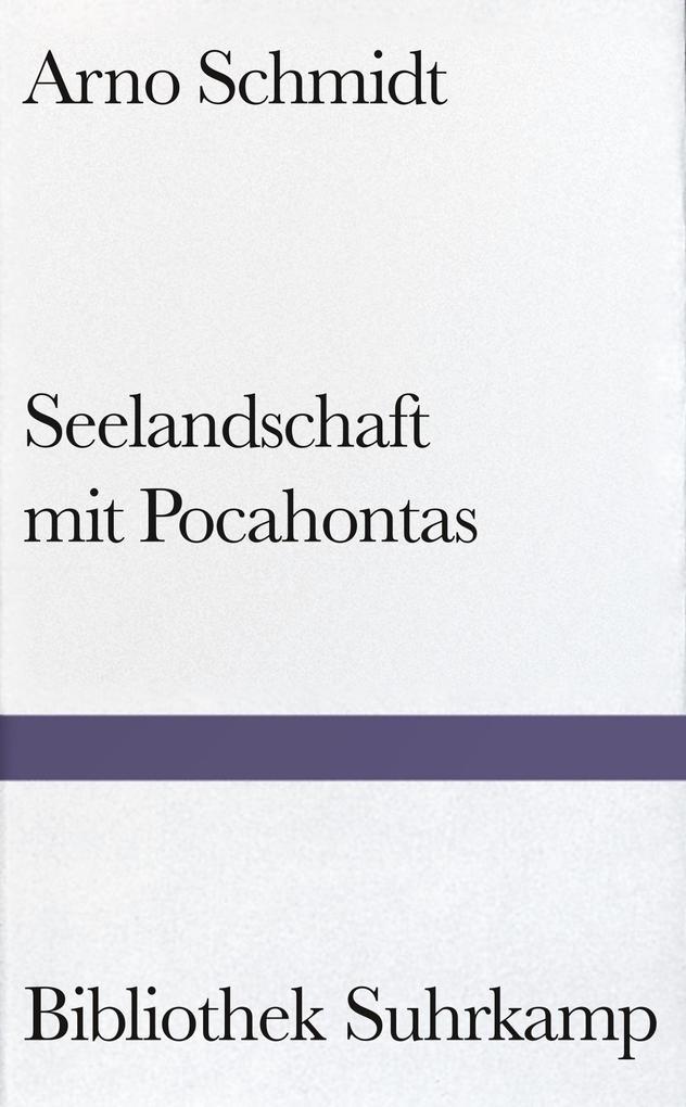 Seelandschaft mit Pocahontas als Buch