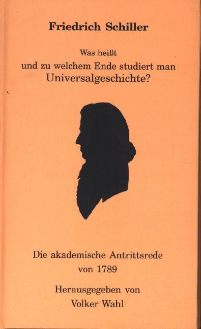 Was heisst und zu welchem Ende studiert man Universalgeschichte? als Buch