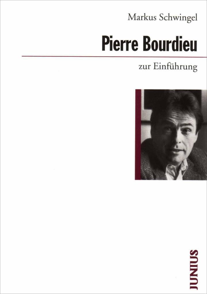 Pierre Bourdieu zur Einführung als Buch