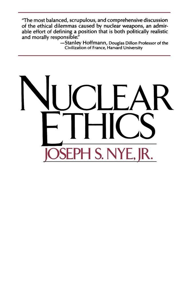 Nuclear Ethics als Taschenbuch