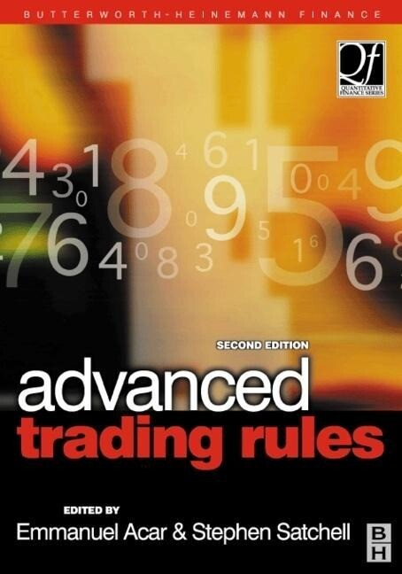 Advanced Trading Rules als Buch