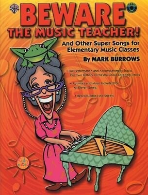Beware the Music Teacher!: And Other Super Songs for Elementary Music Classes, Book & CD als Taschenbuch