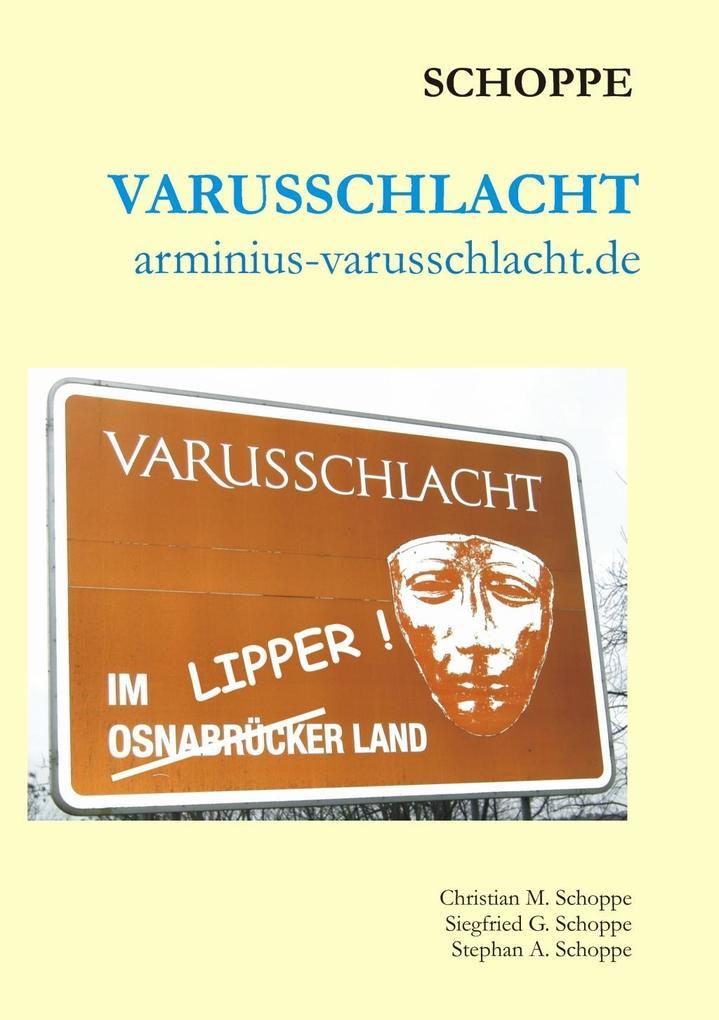 Varusschlacht als eBook von Christian Schoppe, ...