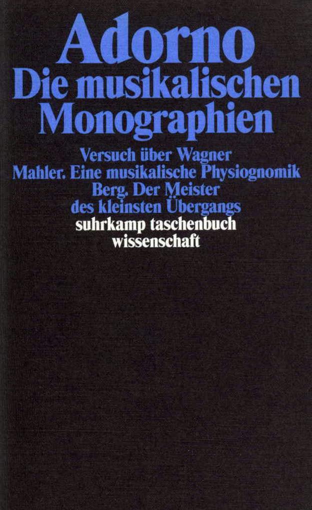 Die musikalischen Monographien als Taschenbuch