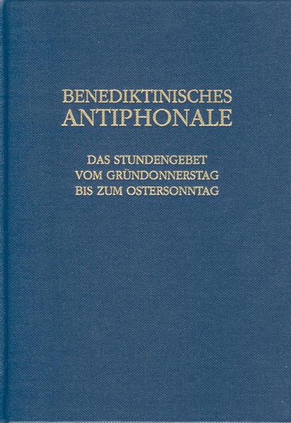 Benediktinisches Antiphonale als Buch