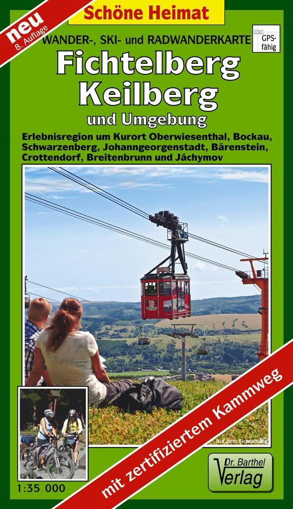 Fichtelberg, Keilberg und Umgebung 1 : 35 000 als Buch