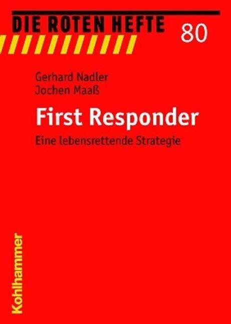 First Responder als Buch