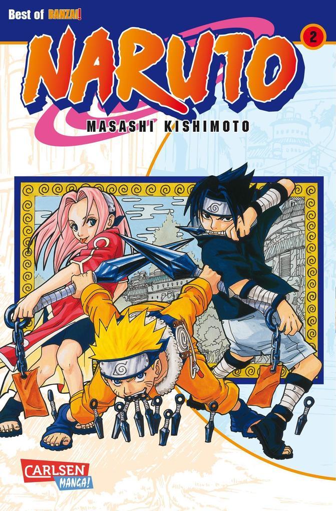 Naruto 02 als Buch