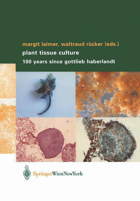 Plant Tissue Culture als Buch