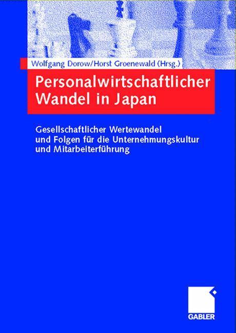 Personalwirtschaftlicher Wandel in Japan als Buch