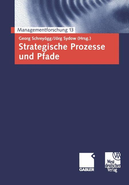 Strategische Prozesse und Pfade als Buch