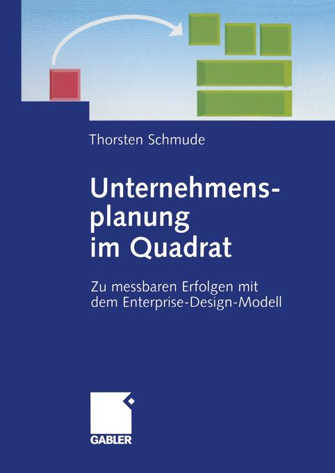 Unternehmensplanung im Quadrat als Buch