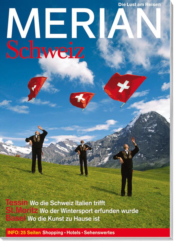 MERIAN Schweiz als Buch