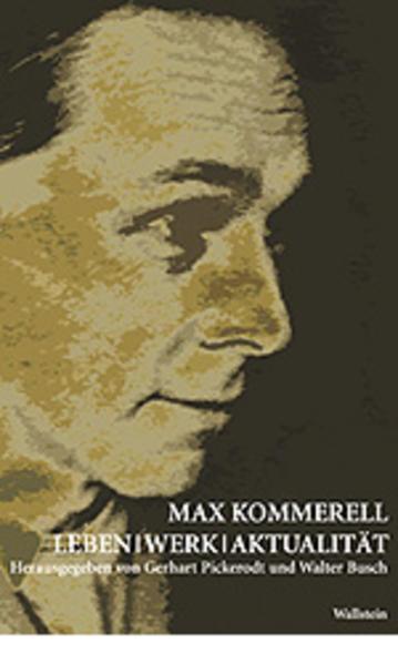 Max Kommerell als Buch