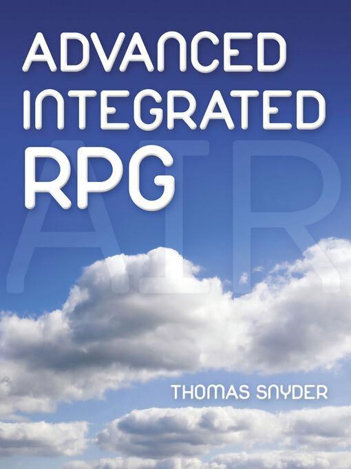 Advanced Integrated RPG als eBook von Thomas Sn...