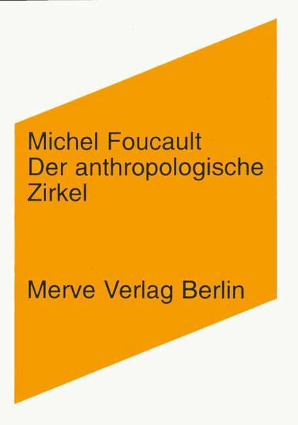Der anthropologische Zirkel als Buch