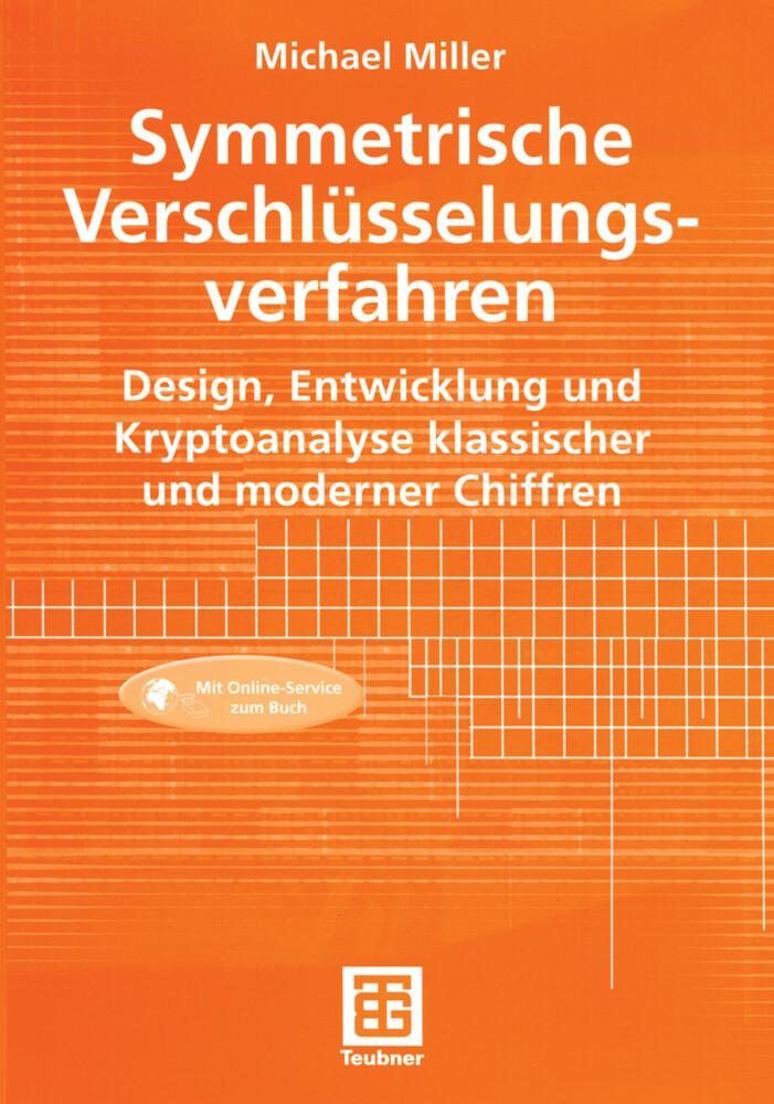 Symmetrische Verschlüsselungsverfahren als Buch