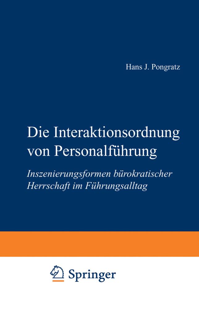 Die Interaktionsordnung von Personalführung als Buch