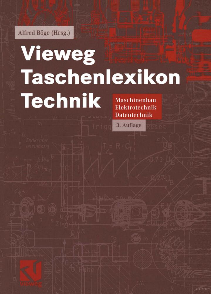 Vieweg Taschenlexikon Technik als Buch