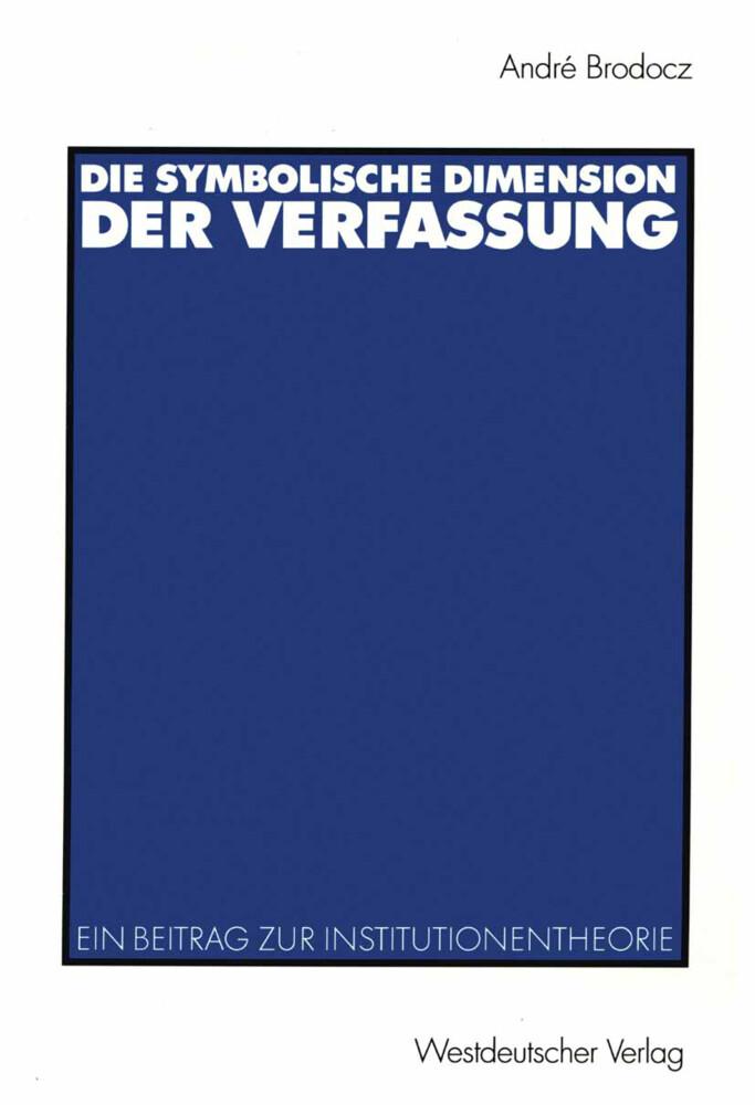 Die symbolische Dimension der Verfassung als Buch