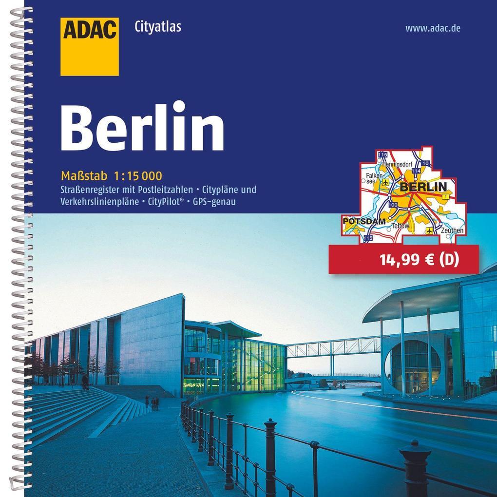 ADAC CityAtlas Berlin 1 : 15 000 als Buch