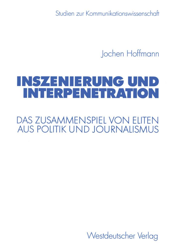 Inszenierung und Interpenetration als Buch