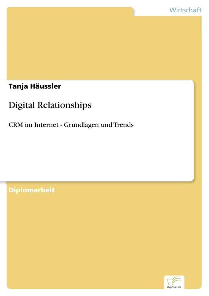 Digital Relationships als eBook pdf