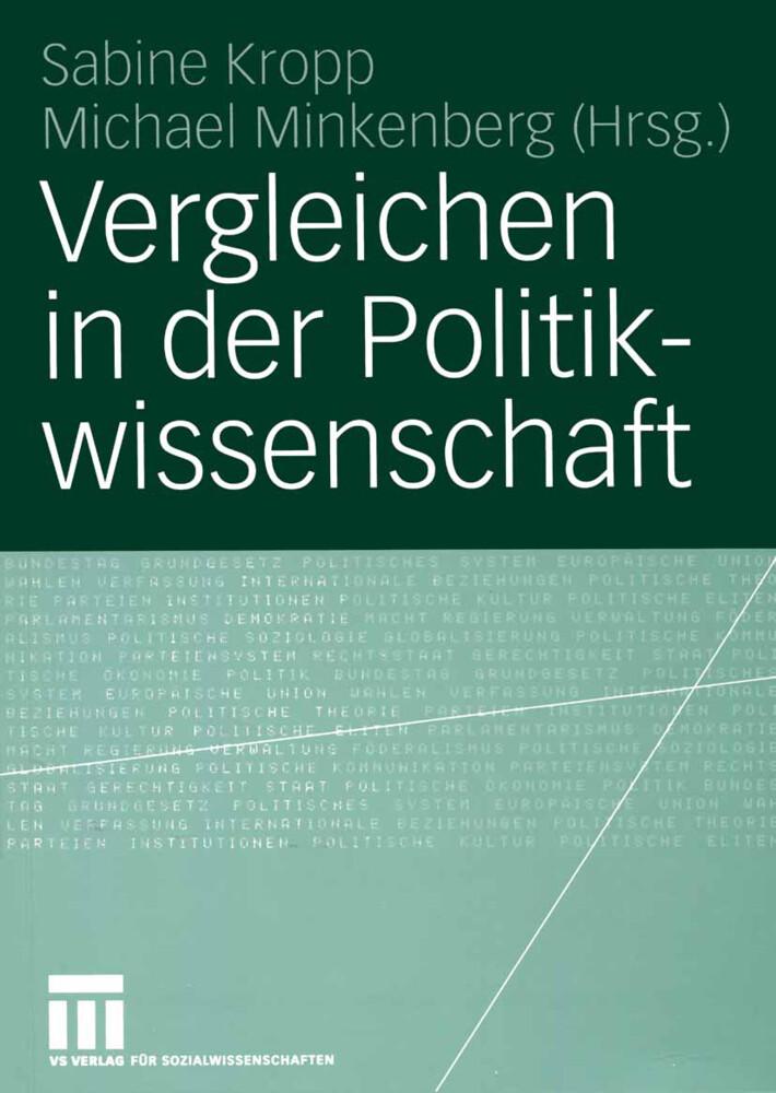 Vergleichen in der Politikwissenschaft als Buch