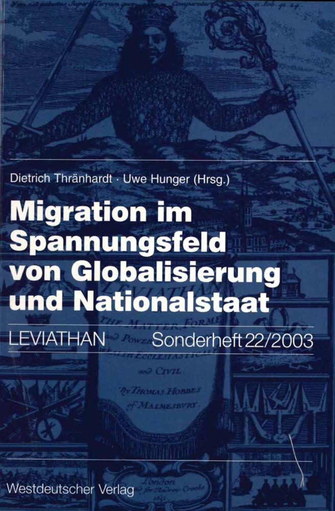 Migration im Spannungsfeld von Globalisierung und Nationalstaat als Buch