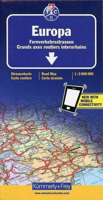 KuF Europa. Fernverkehrsstraßen 1 : 3 600 000 als Buch