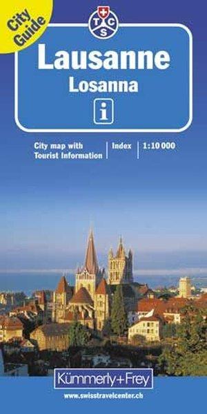 KuF Lausanne City map 1 : 10 000 als Buch
