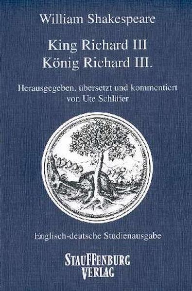 King Richard III / König Richard III als Buch