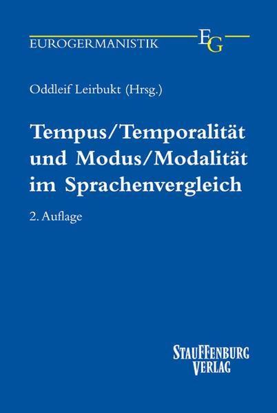 Tempus / Temporalität und Modus / Modalität im Sprachenvergleich als Buch