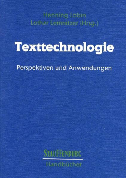 Texttechnologie als Buch