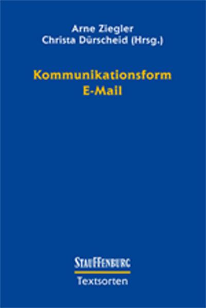 Kommunikationsform E-Mail als Buch