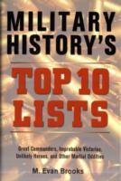 Military History's Top 10 Lists als Buch