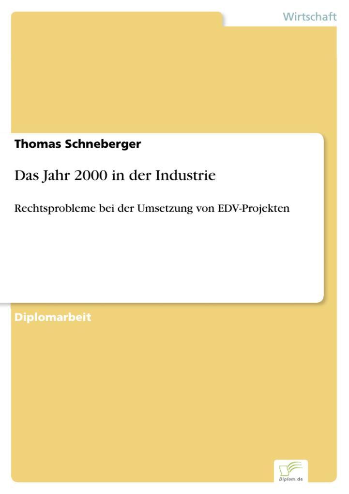 Das Jahr 2000 in der Industrie